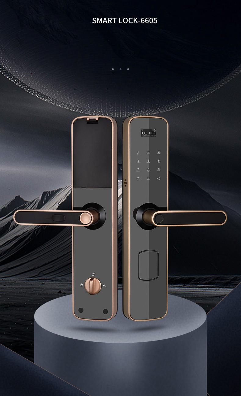 high tech digital keypad door lock manufacturer for mall-1