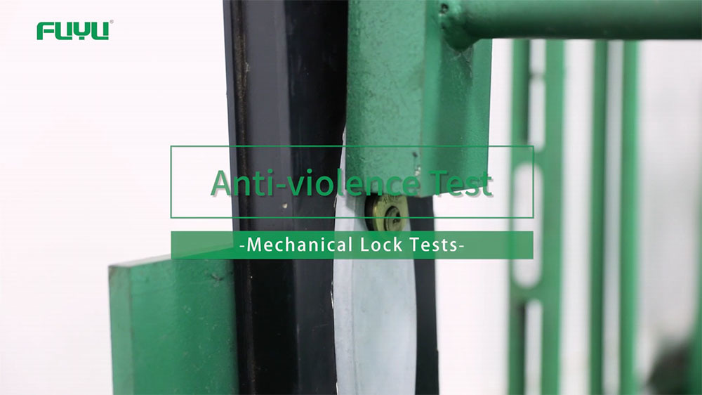 Quality test for mechanical door lock