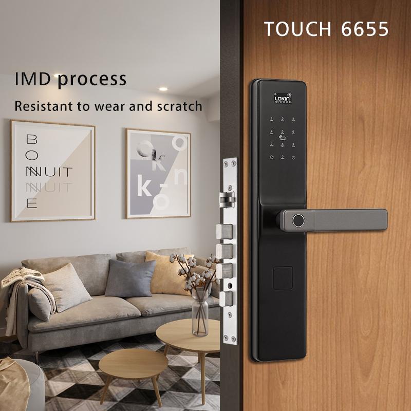 Electronic fingerprint smart door lock