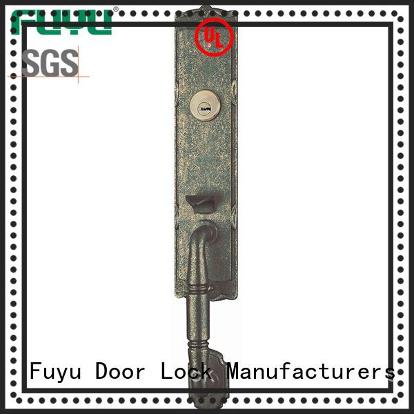 FUYU quality handle door lock for sale for entry door