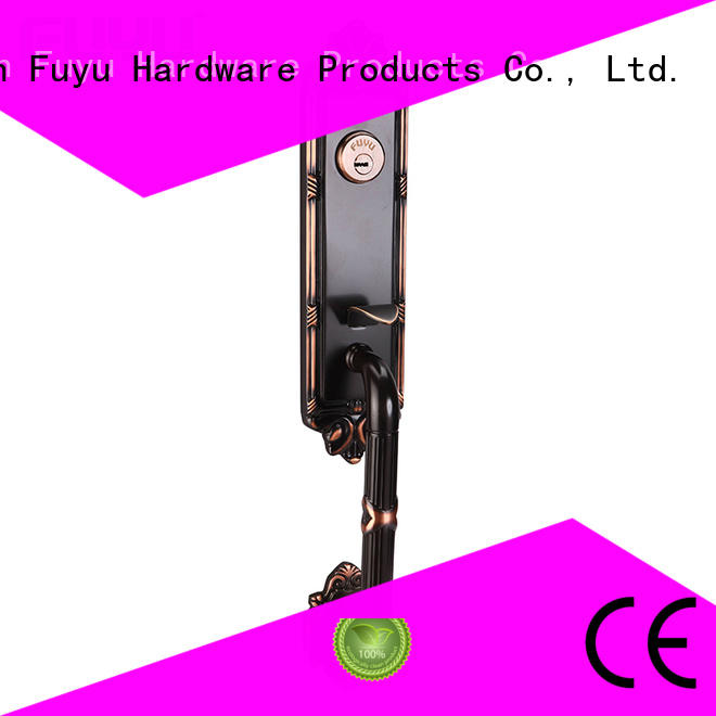 FUYU durable brass mortice lock with latch for home