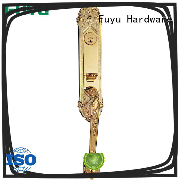 FUYU durable lock manufacturing with latch for entry door
