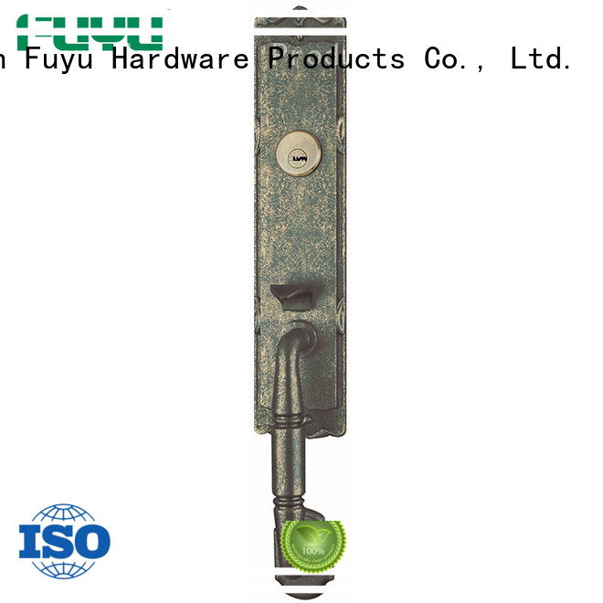 high security zinc alloy entrance door lock on sale for mall FUYU