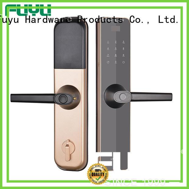 FUYU custom biometric gate lock for residential