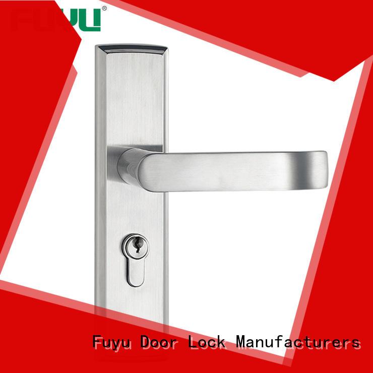 FUYU locks aluminium door lock extremely security for wooden door