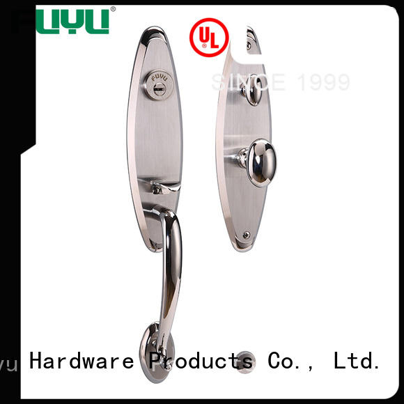 electric customized stainless steel door lock handle with international standard for home