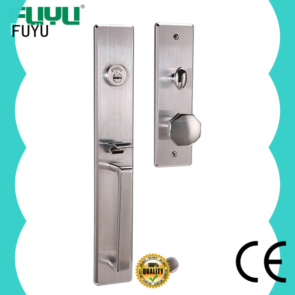 FUYU side aluminium door lock with international standard for shop