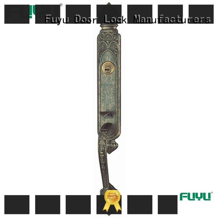 FUYU install zinc alloy lock meet your demands for indoor