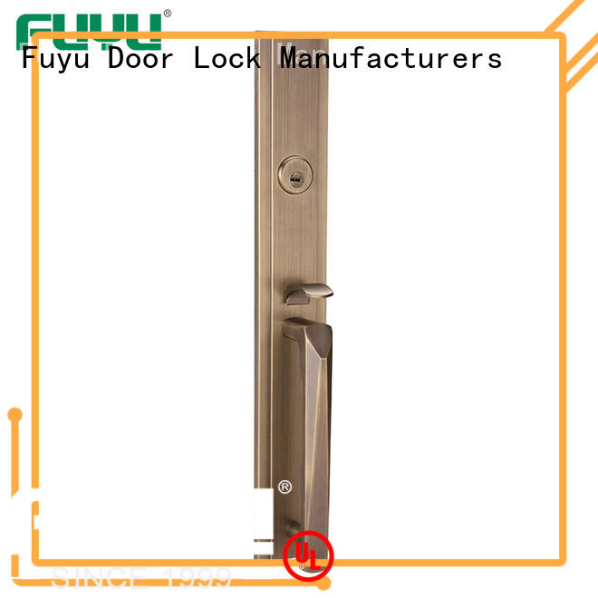 FUYU plated mortise lock on sale for residential