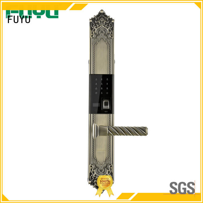 FUYU wholesale electric door locks for home supplier