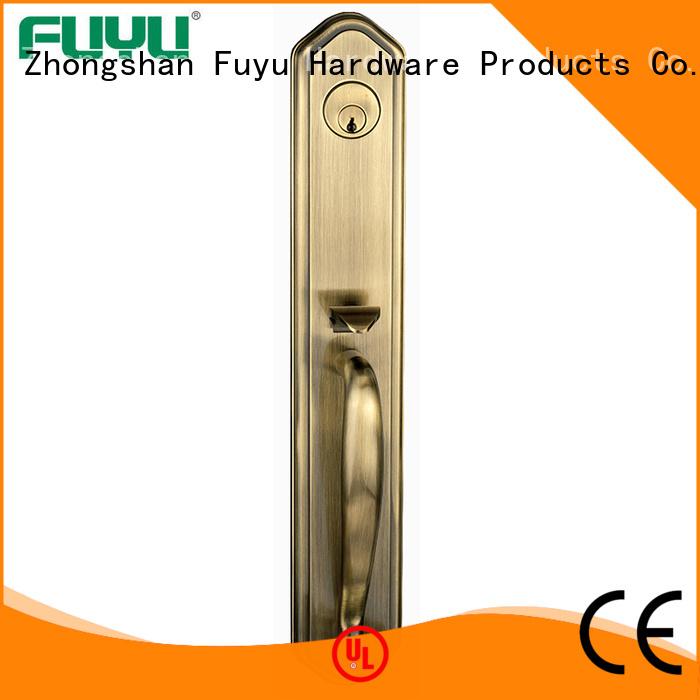 FUYU online door handle lock with latch for indoor