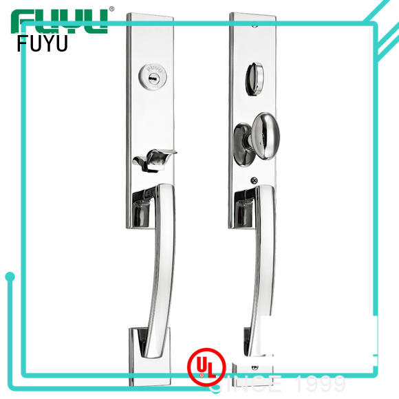 FUYU durable stainless steel lock extremely security for mall