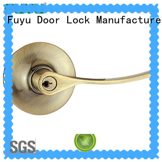 FUYU door handles and locks extremely security for entry door