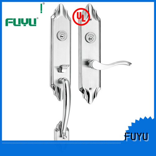 FUYU cylider stainless steel door locks with international standard for mall