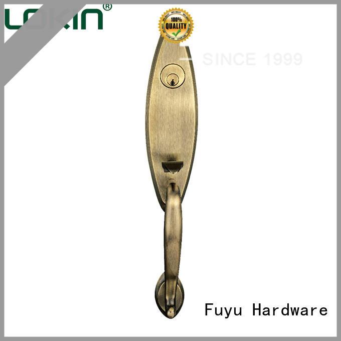FUYU online zinc alloy villa door lock meet your demands for entry door