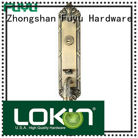 FUYU online zinc alloy door lock for wood door meet your demands for shop