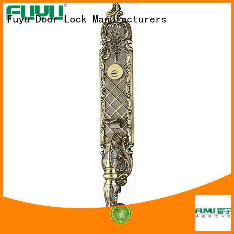 durable zinc alloy door lock for wooden door american on sale for mall