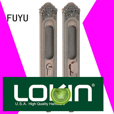 FUYU online zinc alloy door lock for wooden door with latch for shop