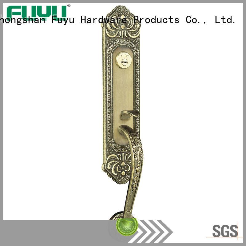 FUYU handle zinc alloy door lock for metal door meet your demands for mall