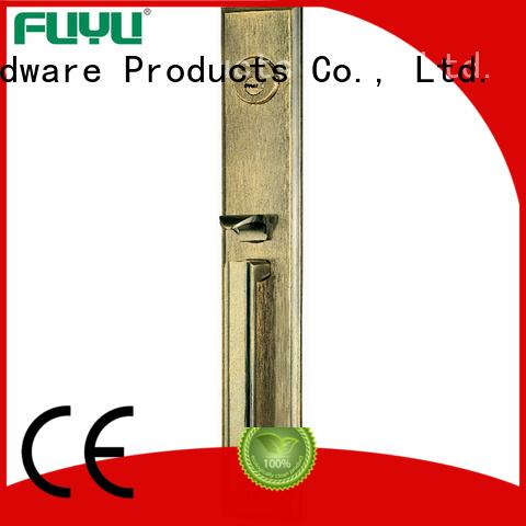 FUYU doors zinc alloy mortise door lock meet your demands for shop