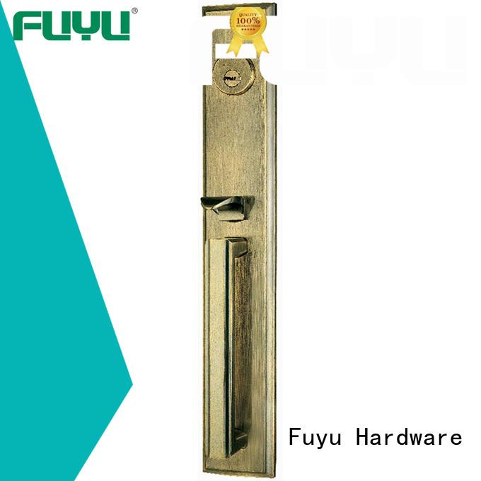 dubai zinc alloy mortise handle door lock timber factory FUYU