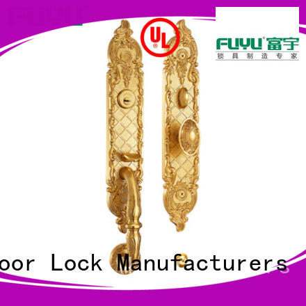 FUYU style brass lock meet your demands for mall