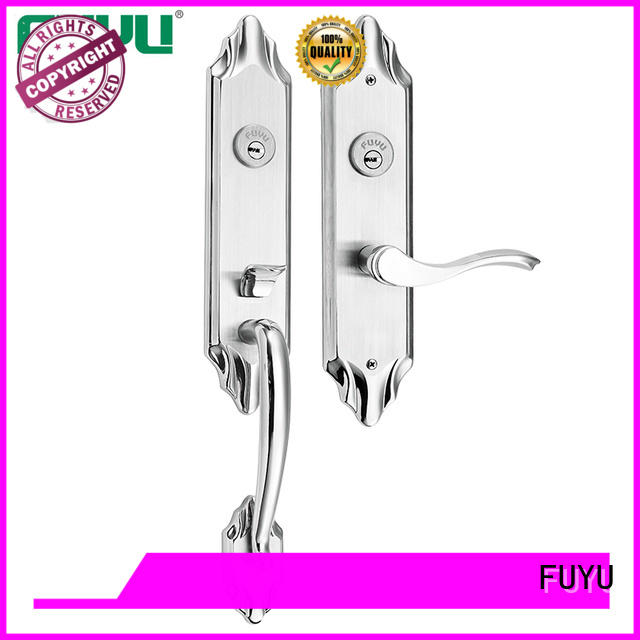 online stainless steel entry door locks with international standard for home FUYU