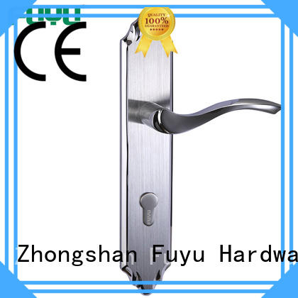quality panel lever handle door lock with international standard for mall