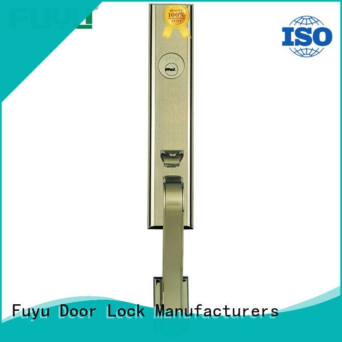 FUYU best grip handle door lock for sale for shop
