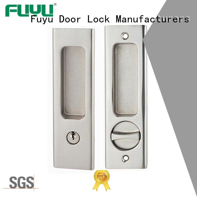 FUYU look zinc alloy door lock factory with latch for indoor