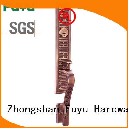 doors zinc alloy entrance door lock alloy for shop FUYU