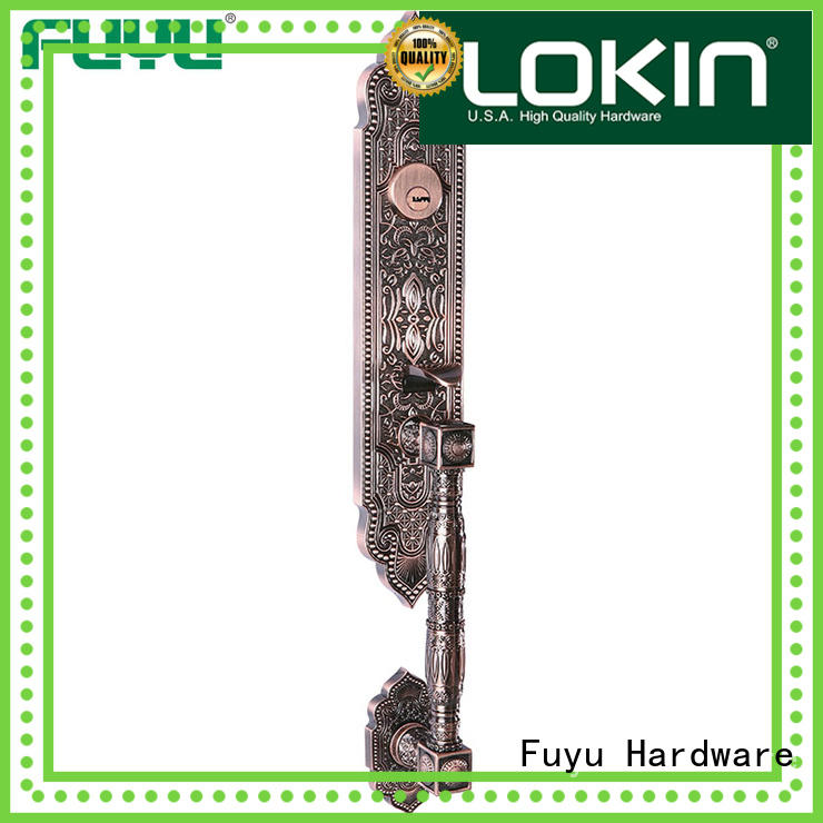 zinc alloy door lock for timber door install for indoor FUYU