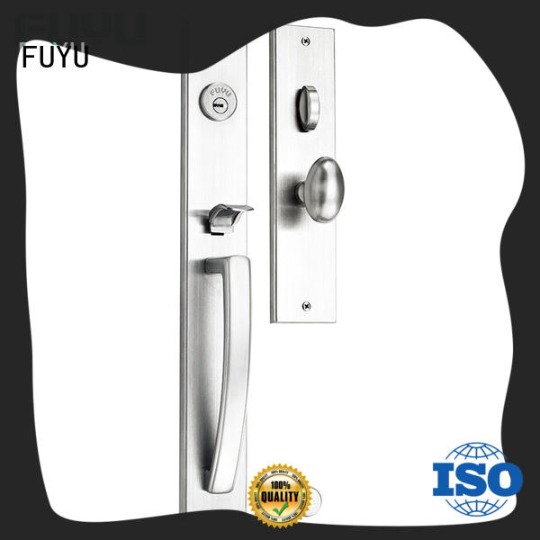 FUYU door lock manufacturing with latch for mall
