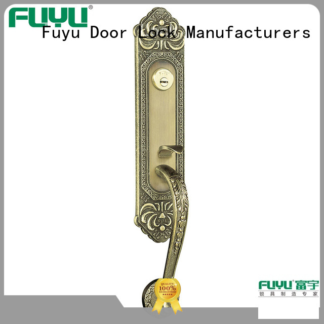 FUYU quality zinc alloy door lock for wooden door meet your demands for shop
