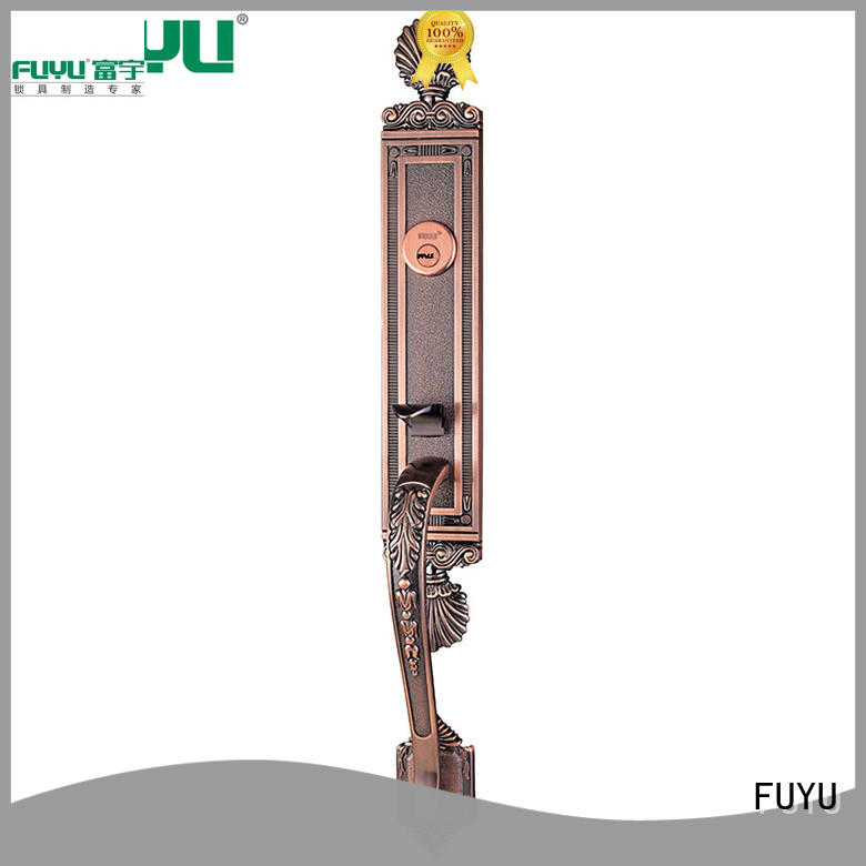 FUYU handleset lock manufacturing with latch for shop