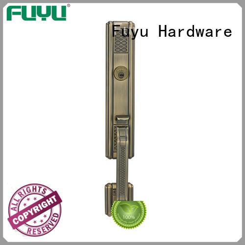 FUYU high security zinc alloy door lock for metal door on sale for mall