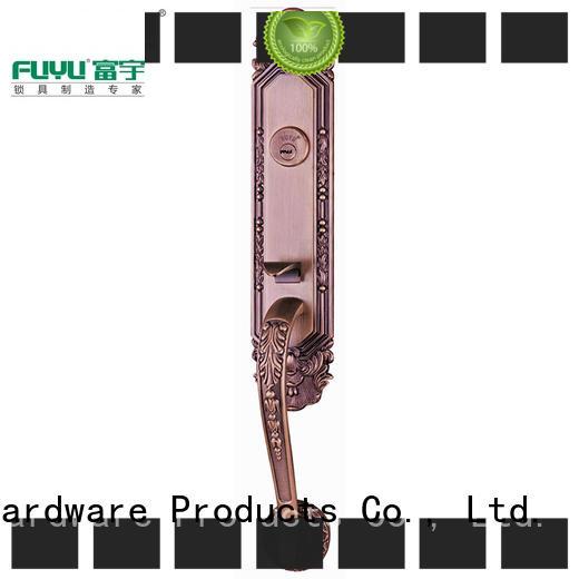 FUYU turn zinc alloy mortise door lock meet your demands for mall