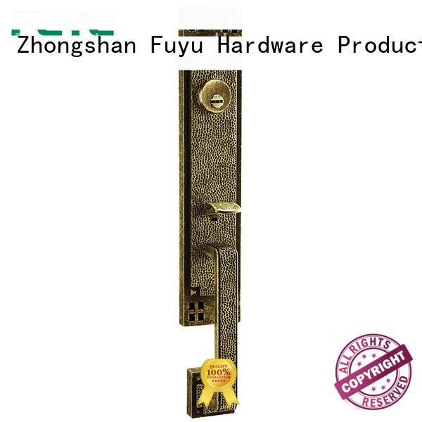 look zinc alloy handle door lock european for entry door FUYU