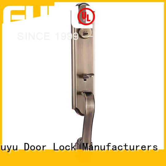 FUYU standards zinc alloy door lock for timber door on sale for shop