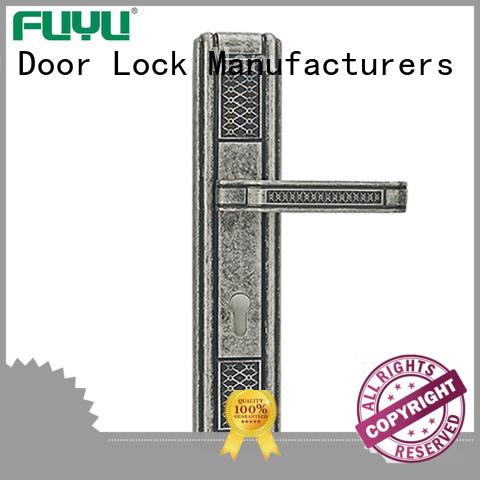 FUYU mortise handle lock with international standard for wooden door