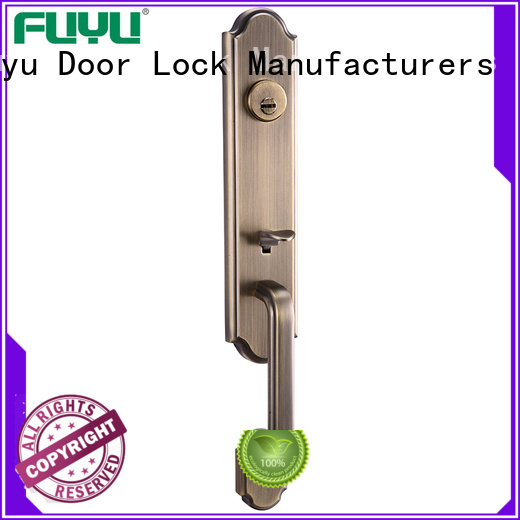 FUYU standards zinc alloy door lock for wooden door meet your demands for mall