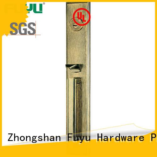 FUYU high security zinc alloy door lock on sale for entry door