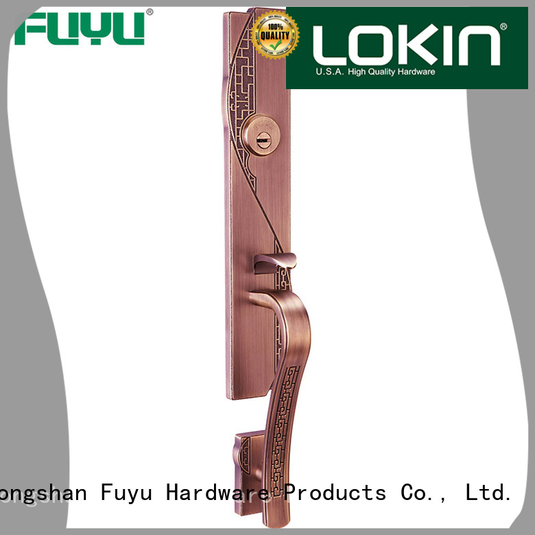 FUYU types mortise lock with hardness for shop