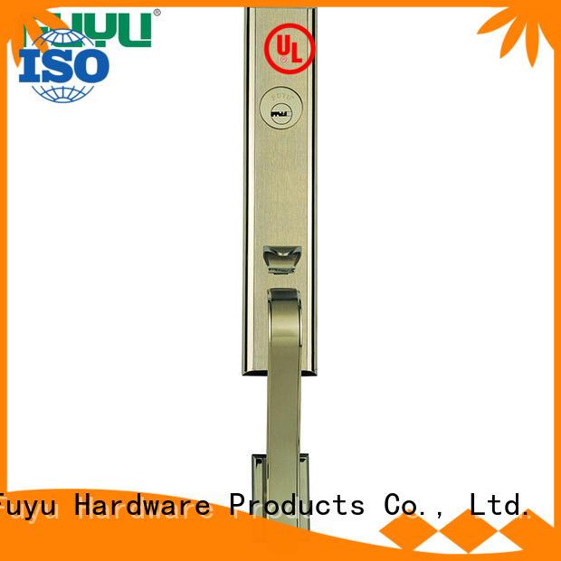 color zinc alloy door lock for timber door door for mall FUYU