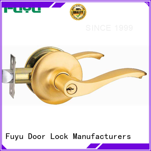 durable simple door lock thumb with latch for mall