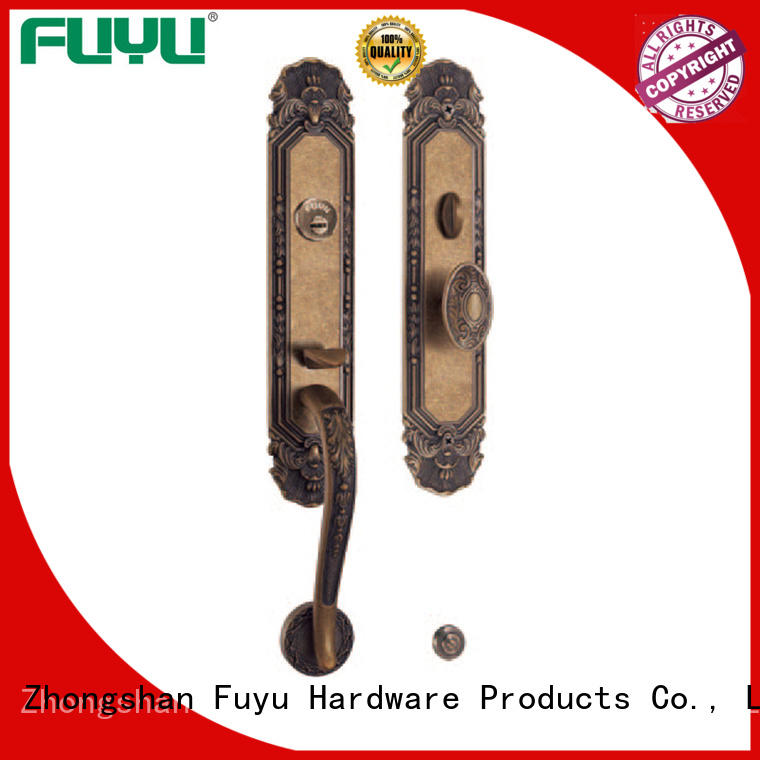 brass bathroom door locks easy for home FUYU