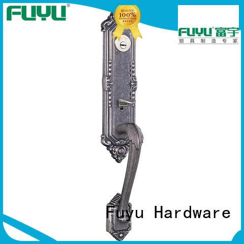 FUYU alloy room door locks grip for residential