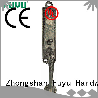 solid zinc alloy door lock for timber door made for mall FUYU