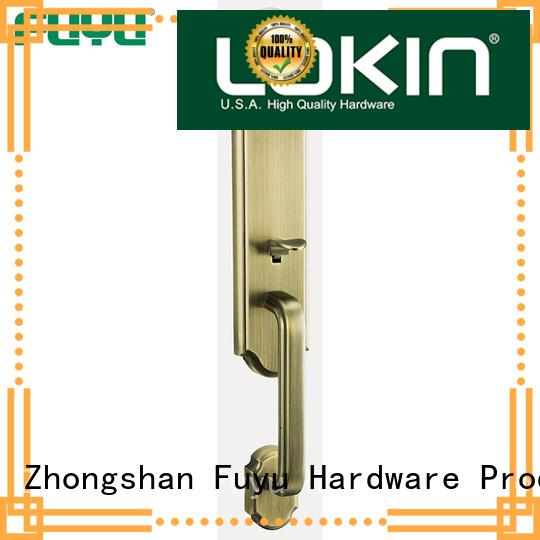 FUYU grip handle door lock for sale for shop