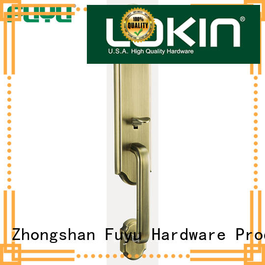 FUYU grip handle door lock for sale for shop